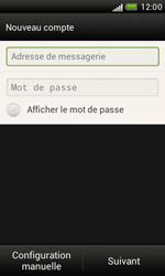 HTC Desire X - E-mail - Configuration manuelle - Étape 6