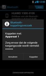 Huawei Ascend Y300 - bluetooth - headset, carkit verbinding - stap 7