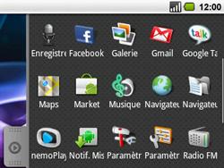 Acer BeTouch E130 - Internet - navigation sur Internet - Étape 2