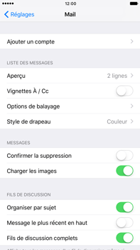 Apple Apple iPhone 6 Plus iOS 10 - E-mail - Configuration manuelle (yahoo) - Étape 4