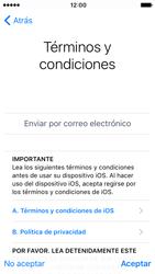 Apple iPhone SE iOS 10 - Primeros pasos - Activar el equipo - Paso 18