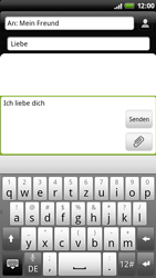 HTC Sensation - MMS - Erstellen und senden - 1 / 1