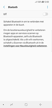 Samsung Galaxy S8 - Android Oreo (SM-G950F) - Bluetooth - Headset, carkit verbinding - Stap 6
