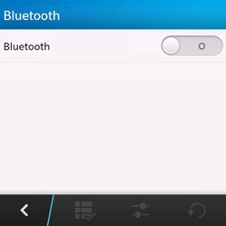 BlackBerry Q10 - Bluetooth - connexion Bluetooth - Étape 8