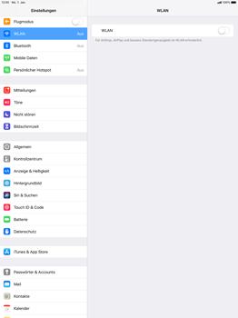 Apple iPad Pro 12.9 inch - iOS 12 - WLAN - Manuelle Konfiguration - Schritt 4