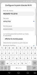 Huawei Y5 (2018) - Internet - comment configurer un point d'accès mobile - Étape 8