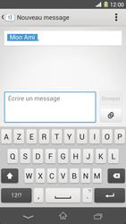 Sony Xpéria Z1 - Contact, Appels, SMS/MMS - Envoyer un SMS - Étape 7