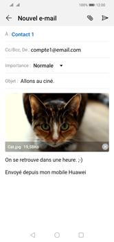 Huawei Y5 (2019) - E-mail - envoyer un e-mail - Étape 15