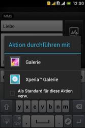 Sony Xperia Tipo Dual - MMS - Erstellen und senden - 1 / 1