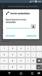Sony Xperia XA1 - Anrufe - Rufumleitungen setzen und löschen - 2 / 2