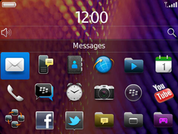 BlackBerry 9360 Curve - Settings - Configuration message received - Step 9