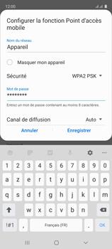 Samsung Galaxy A51 - Internet et connexion - Partager votre connexion en Wi-Fi - Étape 10