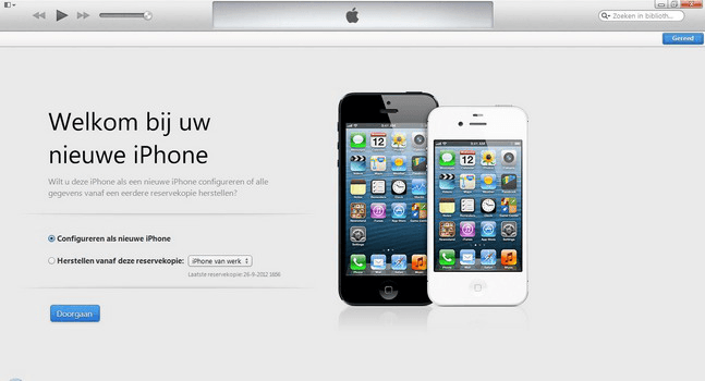 Apple iPhone 5 met iOS 7 - Software - Synchroniseer met PC - Stap 9