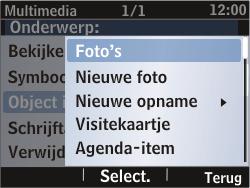 Nokia Asha 302 - MMS - Afbeeldingen verzenden - Stap 18