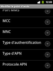 Alcatel OT-903 - Internet - configuration manuelle - Étape 13