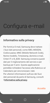 Samsung Galaxy S9 - Android Pie - E-mail - 032c. Email wizard - Outlook - Fase 10