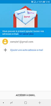 Samsung Galaxy A6 - E-mails - Ajouter ou modifier votre compte Gmail - Étape 13