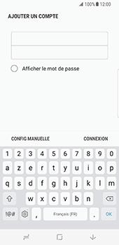 Samsung Galaxy S8 - E-mail - configuration manuelle - Étape 8