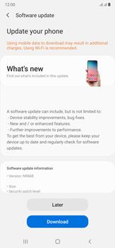 Samsung Galaxy Note 20 Ultra 5G - Software - Installing software updates - Step 7