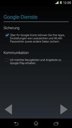 Sony Xperia M2 - Apps - Konto anlegen und einrichten - 14 / 23