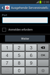 Samsung Galaxy Fame Lite - E-Mail - Manuelle Konfiguration - Schritt 16