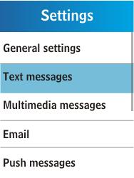 Samsung C3300K - SMS - Manual configuration - Step 5