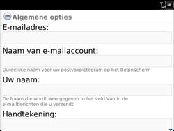 BlackBerry 9900 Bold Touch - E-mail - Handmatig instellen - Stap 14