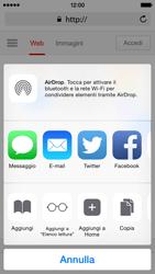Apple iPhone 5c iOS 8 - Internet e roaming dati - Uso di Internet - Fase 6