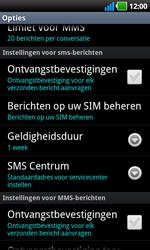 LG P970 Optimus Black - SMS - handmatig instellen - Stap 4
