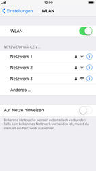 Apple iPhone 8 - iOS 12 - WLAN - Manuelle Konfiguration - Schritt 5