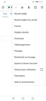 Huawei P Smart (2019) - Internet et connexion - Naviguer sur internet - Étape 8