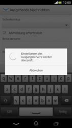 Sony Xperia V - E-Mail - Manuelle Konfiguration - Schritt 13