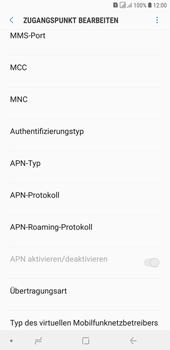 Samsung Galaxy J4+ - MMS - Manuelle Konfiguration - 13 / 28