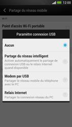 HTC One - Internet et connexion - Utiliser le mode modem par USB - Étape 8
