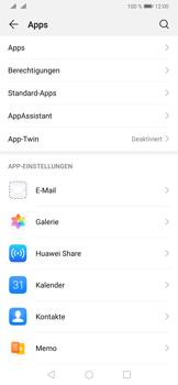 Huawei P30 - Apps - Eine App deinstallieren - Schritt 4