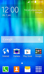 Samsung J100H Galaxy J1 - Internet - Mobiele data uitschakelen - Stap 1