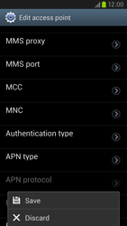 Samsung Galaxy S III LTE - MMS - Manual configuration - Step 15