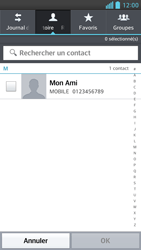 LG Optimus F6 - Contact, Appels, SMS/MMS - Envoyer un MMS - Étape 6