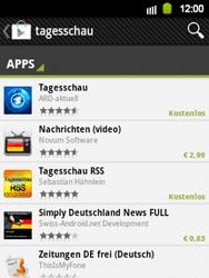 Samsung Galaxy Y - Apps - Herunterladen - 8 / 24