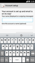 Huawei Ascend Y530 - E-mail - Manual configuration - Step 19