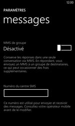 Nokia Lumia 625 - SMS - configuration manuelle - Étape 6