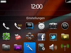 BlackBerry 9900 Bold Touch - Fehlerbehebung - Handy zurücksetzen - Schritt 5