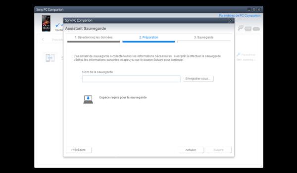 Sony Xperia Z - Logiciels - Comment effectuer une sauvegarde de votre appareil - Étape 7