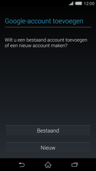 Sony D6503 Xperia Z2 - Applicaties - Account aanmaken - Stap 4