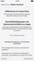 Apple iPhone 5 - Apps - Konto anlegen und einrichten - 21 / 38