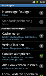 Samsung Galaxy S - Internet - Apn-Einstellungen - 19 / 22