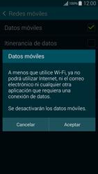 Samsung G850F Galaxy Alpha - Internet - Activar o desactivar la conexión de datos - Paso 7