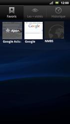 Sony Xperia Neo - Internet - Navigation sur Internet - Étape 10
