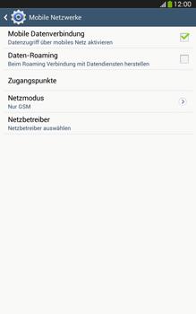 Samsung Galaxy Tab 3 8-0 LTE - Netzwerk - Netzwerkeinstellungen ändern - 8 / 8