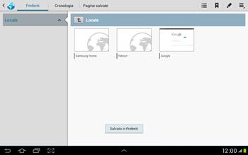 Samsung Galaxy Tab 2 10.1 - Internet e roaming dati - Uso di Internet - Fase 9